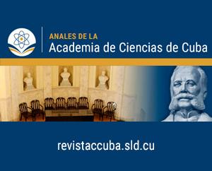 Revista Anales de la Academia de Ciencias de Cuba: Primer número de 2021