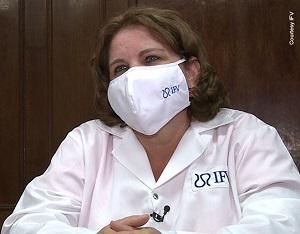 DrC. Dagmar García-Rivera Directora de Investigaciones, Instituto Finlay de Vacunas. Foto tomada de Medicc Review