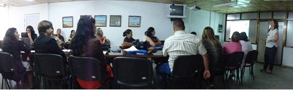 Taller en la Universidad de Ciencias Médicas de Cienfuegos.