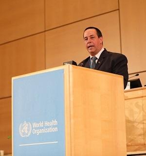 Intervención del Ministro de Salud Pública, Dr. José Angel Portal Miranda, en la 72º Asamblea Mundial de la Salud