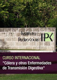 """1er Curso Internacional: """"Cólera y de otras enfermedades de Transmisión Digestivas"""""""