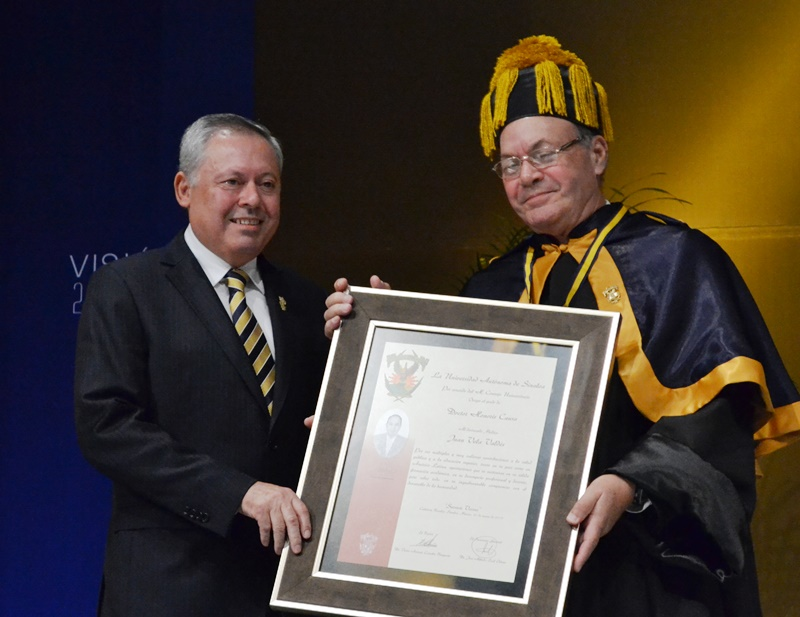 honoris causa Vela